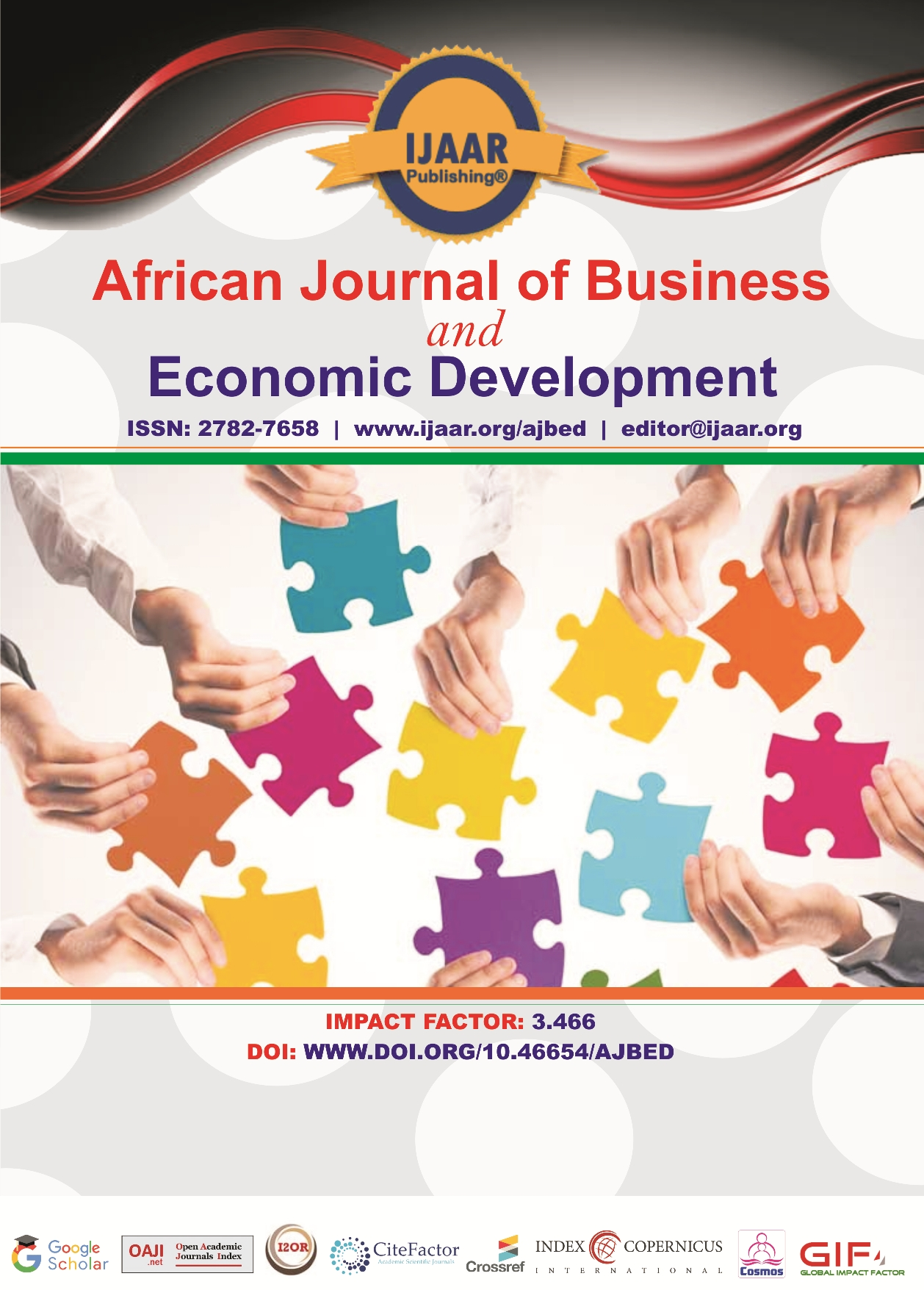 African Journal of Sustainable Agricultural Development